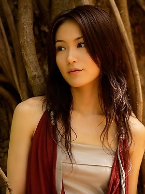 Sayaka Yamaguchi Asian is simply amazing while enjoying summer